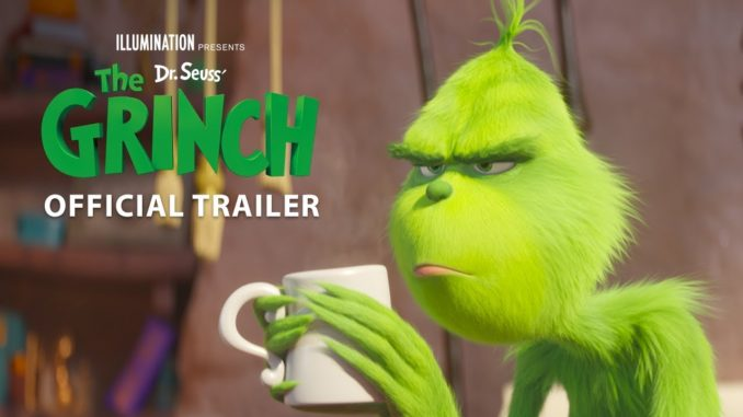 The Grinch Movie Trailer 2018