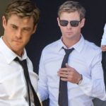 First Photos of Chris Hemsworth on Men in Black Set!